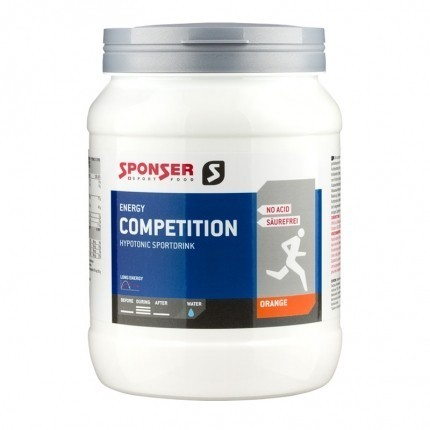 Sponser Competition Isotonic 1000g Red Orange