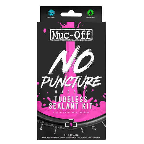 Muc-Off - No Puncture Hassle Reifendichtmittel 140ml